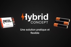 HYBRID CONCEPT: a practical and flexible solution when choosing a power source for your headlamp.
