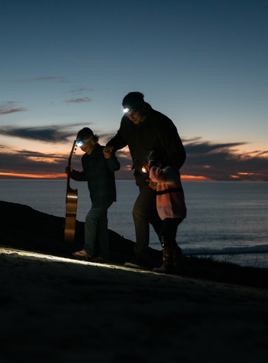 Petzl headlamps provide hands-free lighting to enjoy every moment and activity in the great outdoors as a family.