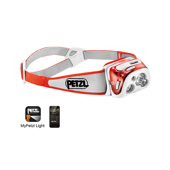REACTIK + Lampe frontale multifaisceau, rechargeable et programmable, grâce à l'application mobile MyPetzl Light. 300 lumens.